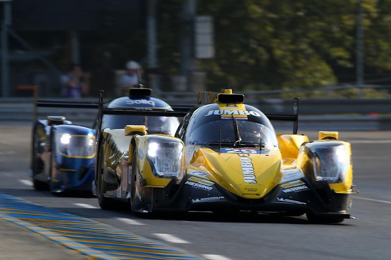 Conway leads for Toyota after opening hour at Le Mans