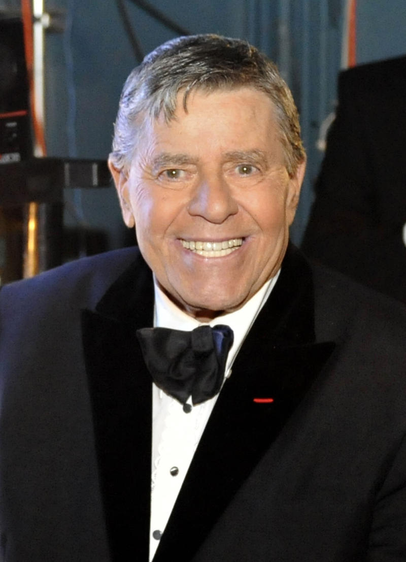 "FILE - In this Feb. 22, 2009 file photo, Jerry Lewis is seen backstage at the 81st Academy Awards in the Hollywood section of Los Angeles. The Muscular Dystrophy Foundation Australia said the comedian's show Friday night June 23, 2011, in Sydney had to be canceled   Foundation CEO David Jack apologized in a statement, saying the 85-year-old was ""not well enough to take the stage."" (AP Photo/Chris Carlson, file)"