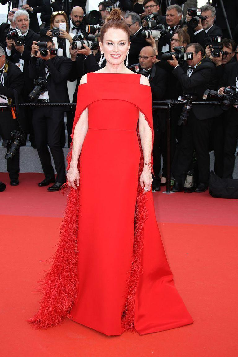 <p>Julianne Moore in Givenchy </p>