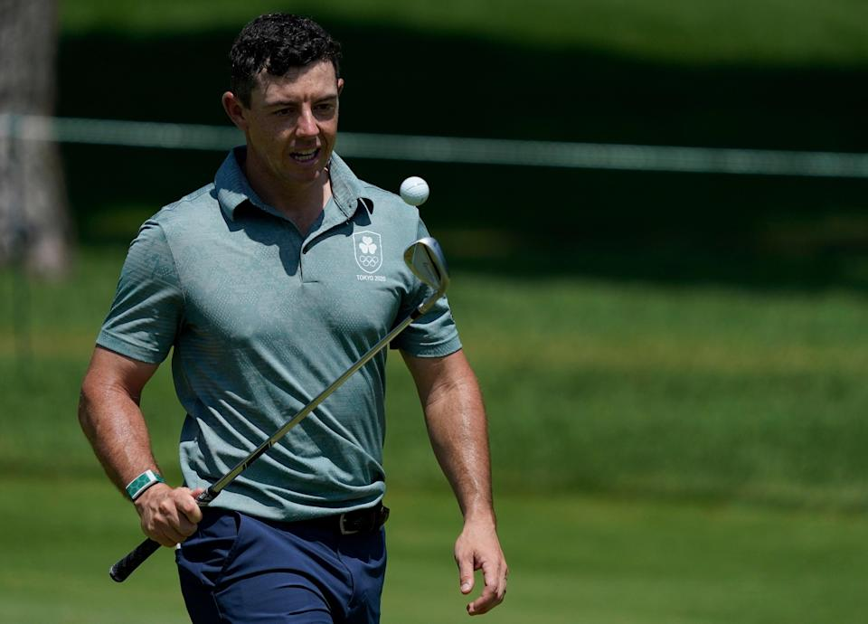 Rory McIlroy is in medal contention in Tokyo (Matt York/AP) (AP)