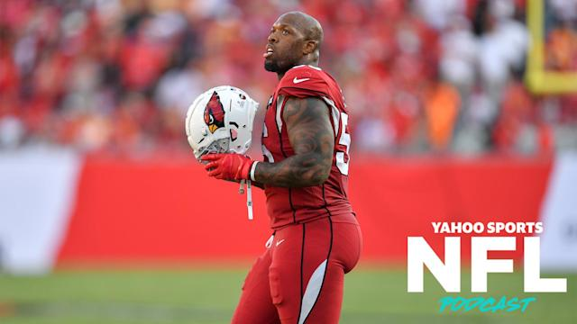 Former Arizona and Baltimore linebacker Terrell Suggs was claimed off waivers by the Kansas City Chiefs on Monday. (Photo by Roy K. Miller/Icon Sportswire via Getty Images)