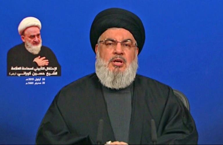 Hezbollah chief Hassan Nsarallah calls on refugees from Syria's Qusayr to return home