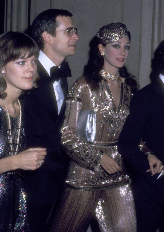 "<p>Seventies chic was the only way to go when it came to the 1974 exhibition which was dedicated to ""Romantic and Glamorous Hollywood Design."" (Photo: Getty Images) </p>"