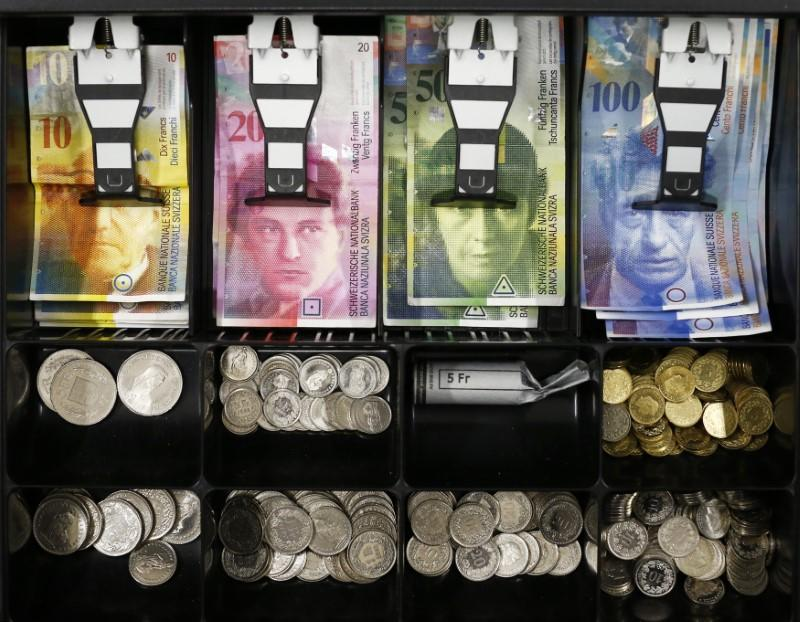 Swiss franc nears 3-year high after U.S. adds it to watchlist