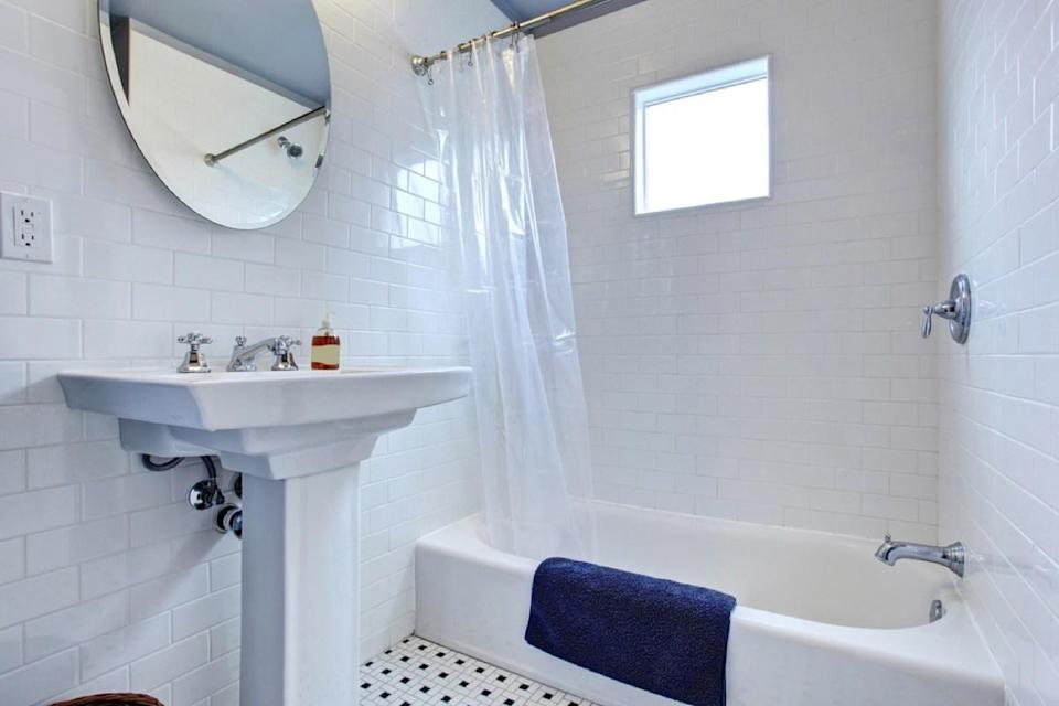 """Though it may be nice to have an extra powder room, adding one isn't worth the cost in the long run. According to the <em>Remodeling </em>report, an extra bathroom only yields an average 58.1 percent ROI when it's time to sell. In fact, many buyers will be turned off by the square footage you sacrificed to install that soaker tub. And if you want to upgrade a powder room without a major renovation, check out these <a href=""""https://bestlifeonline.com/bathroom-accessories/?utm_source=yahoo-news&utm_medium=feed&utm_campaign=yahoo-feed"""" rel=""""nofollow noopener"""" target=""""_blank"""" data-ylk=""""slk:20 Bathroom Accessories That Will Totally Reinvent Your Space"""" class=""""link rapid-noclick-resp"""">20 Bathroom Accessories That Will Totally Reinvent Your Space</a>."""