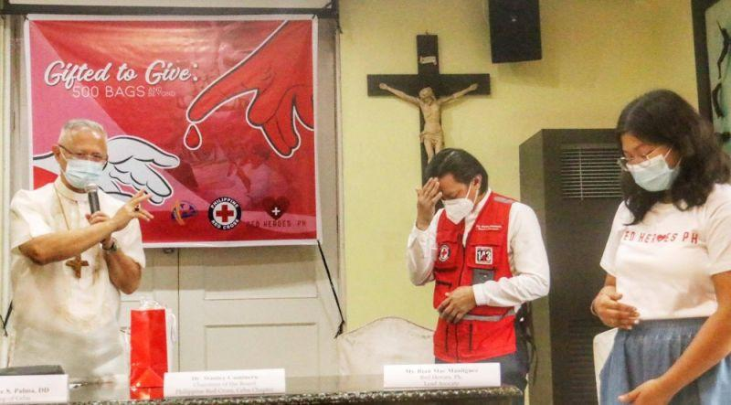 Church launches blood donation drive