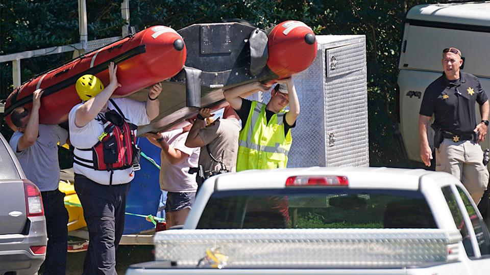 Search for survivors after three killed in tubing tragedy