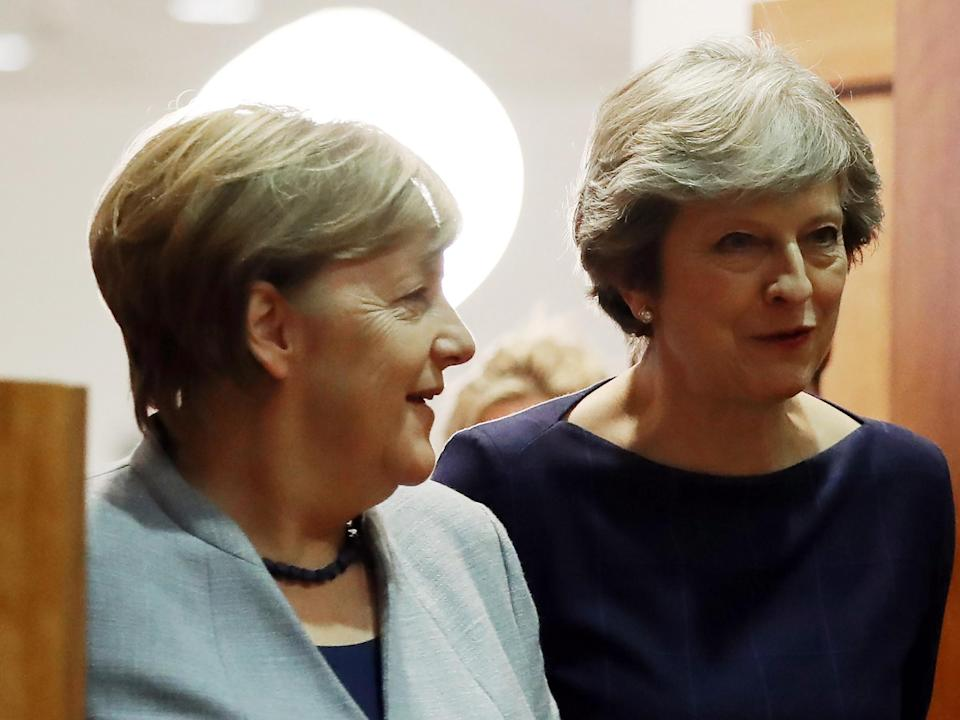 Brexit: Theresa May flies out to win Angela Merkel's support for customs plan, despite 'smugglers paradise' fears