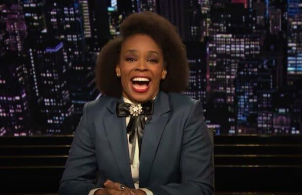 Amber Ruffin Fangirls Over Mary J Blige in Her First Late-Night Monologue (Video)