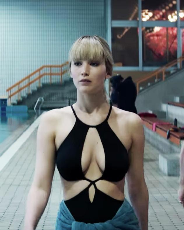 The Red Sparrow star has admitted she's not actually that fond of sex. Source: Fox