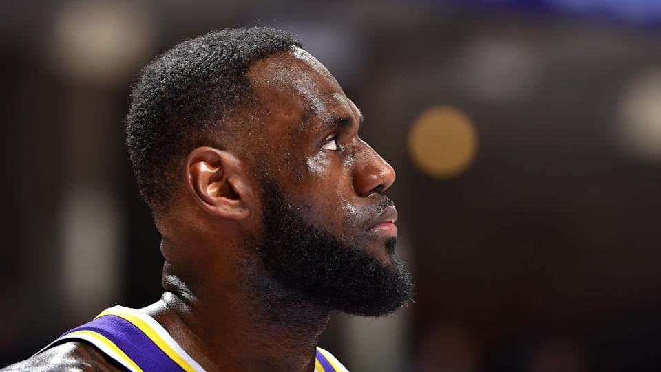 This was not the vision when LeBron James joined the Lakers in last offseason's blockbuster move to L.A.