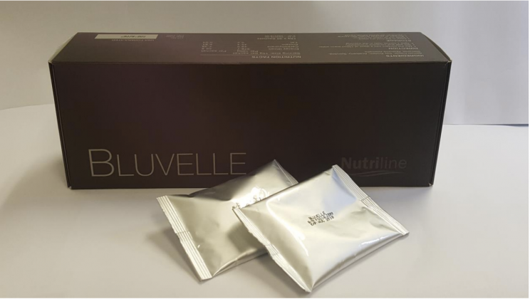 A photo of the weight loss product Nutriline Bluvelle. (Photo: HSA)