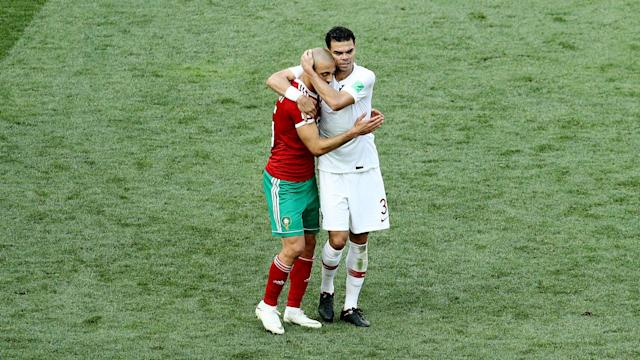 Morocco are out of the World Cup and Nordin Amrabat believes that is partly down to the referee's unwillingness to use VAR.