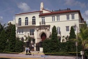 Gianni Versace's mansion in Miami Beach, Florida