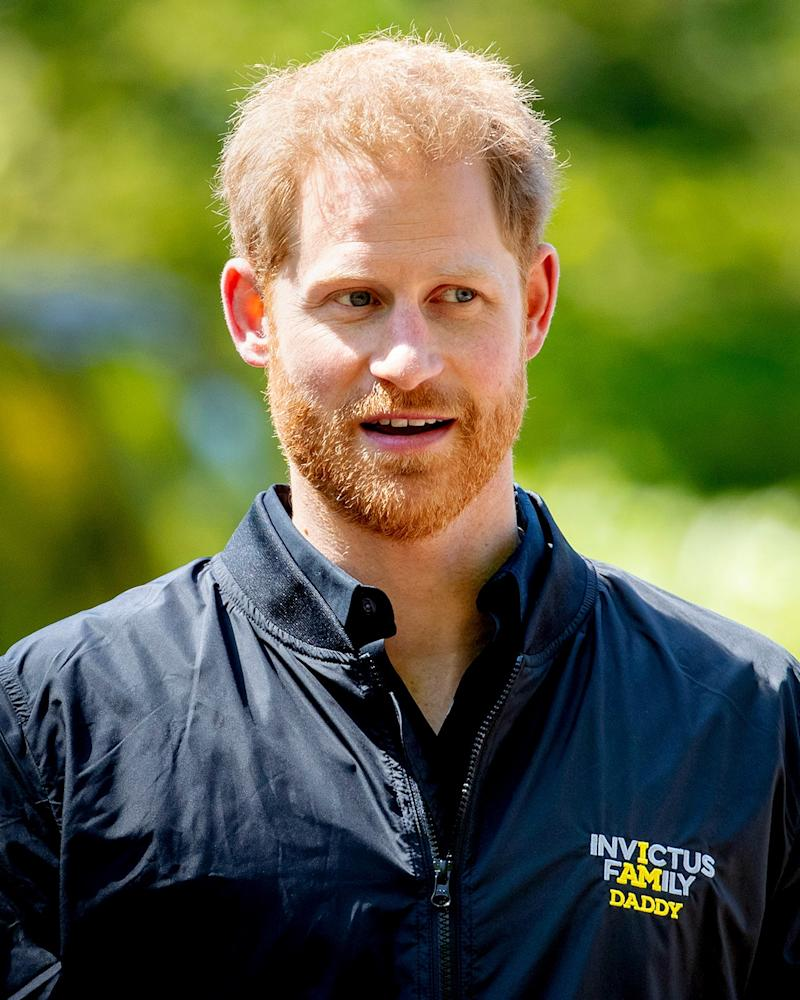 Prince Harry is, indeed, daddy.