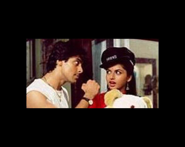 Sooraj Barjatya's films are full of heroines who start off ambitiously on the academic path before settling down in happy domesticity. In Maine Pyar Kiya, heroine Suman (Bhagyashree) stood first in her Inter(mediate) exams by scoring 87% but instead of attending college, became a house-guest at her father's friend's house.