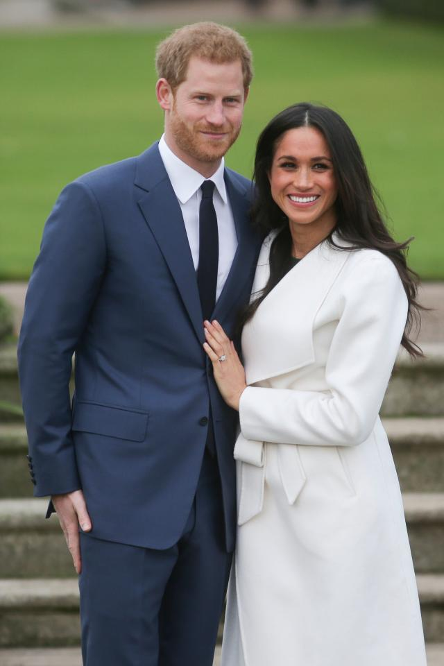 Prince Harry and Meghan Markle will wed May 19. (Photo: DANIEL LEAL-OLIVAS/AFP/Getty Images)