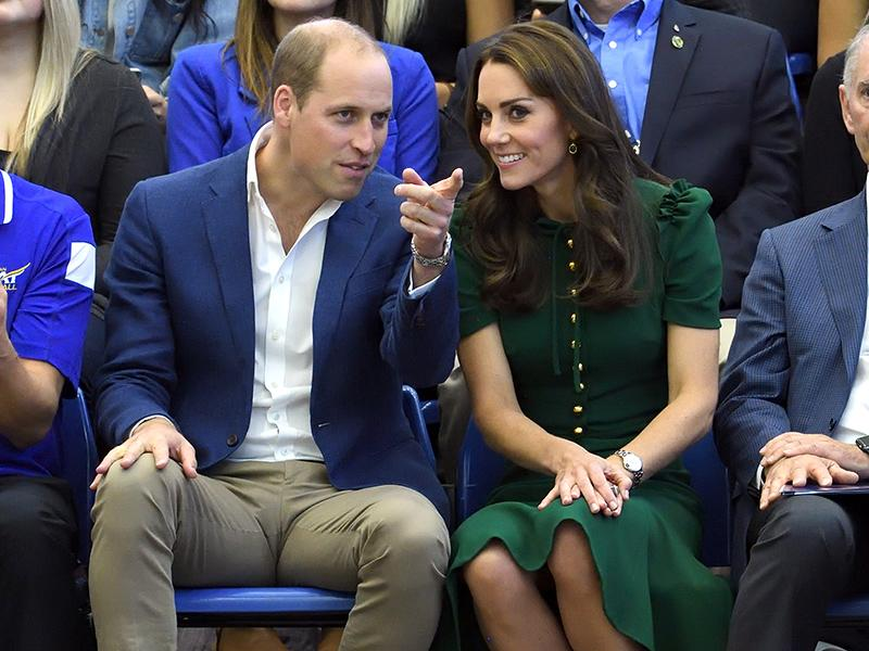 Will and Kate visit the University of British Columbia.
