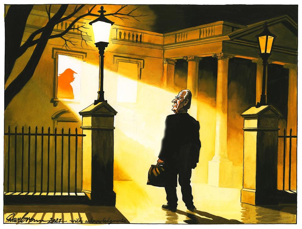 <p>Biden will have to work fast to exorcise the nation of Trump and his policies</p> (Dave Brown)