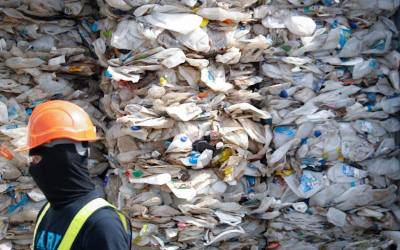 France has vowed to get touch on brokerage companies that illegally send plastic waste abroad - AP