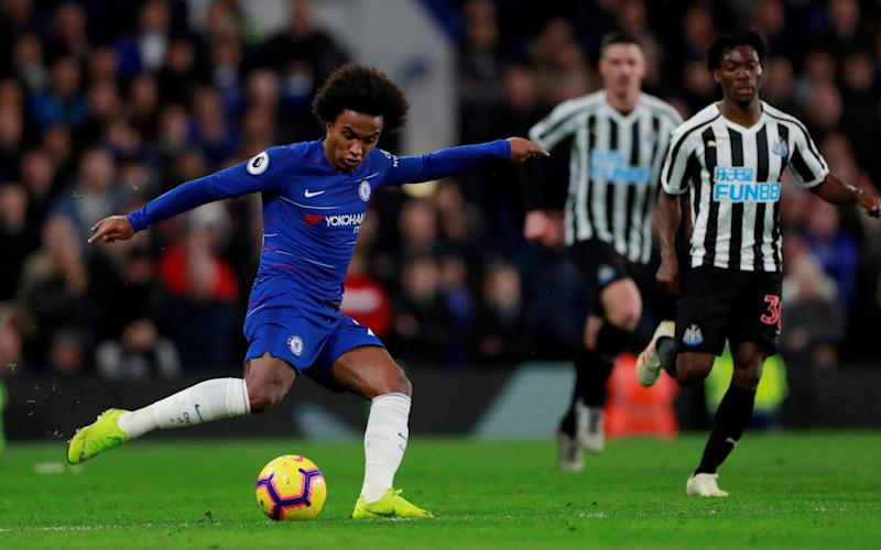 Chelsea look to maintain their top four challenge at Newcastle - Action Images via Reuters