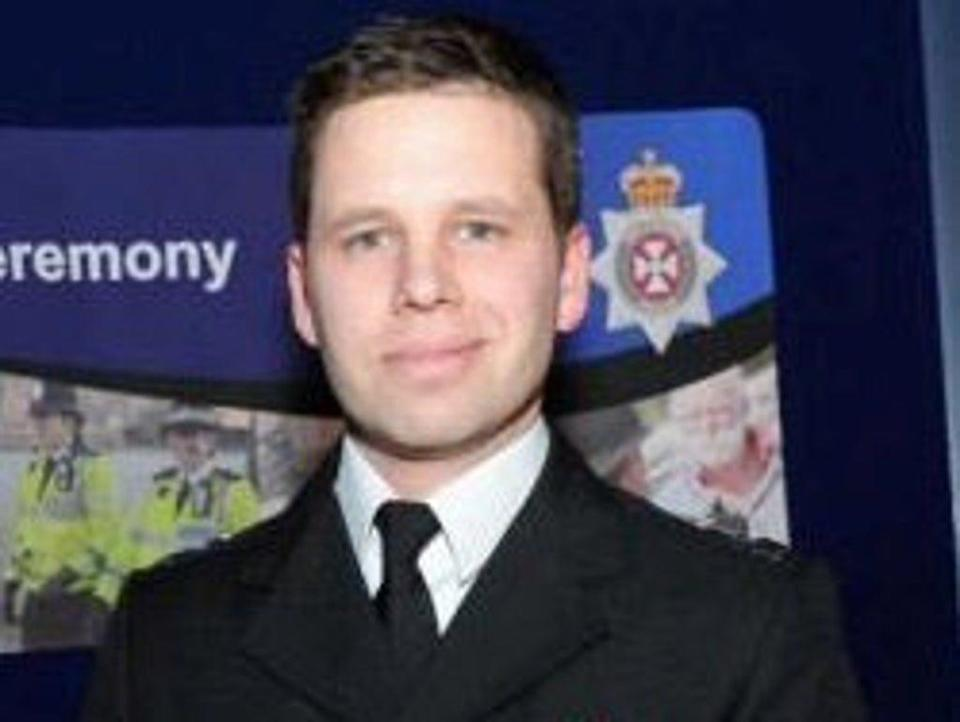 Detective Sergeant Nick Bailey, who joined Wiltshire Police in 2002, was taken to hospital after a nerve agent was used to poison former spy Sergei Skripal and his daughter Yulia Skripal (Wiltshire Police/Handout)
