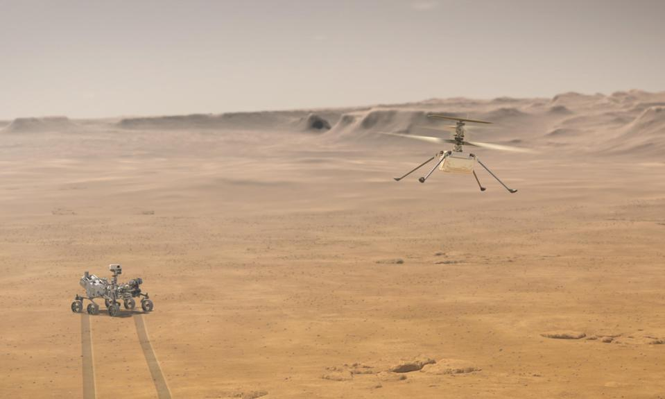 Nasa's Ingenuity helicopter (PA Media)