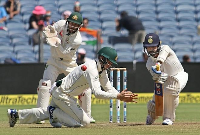 Ajinkya Rahane, India, Australia, Peter Handscomb, second Test
