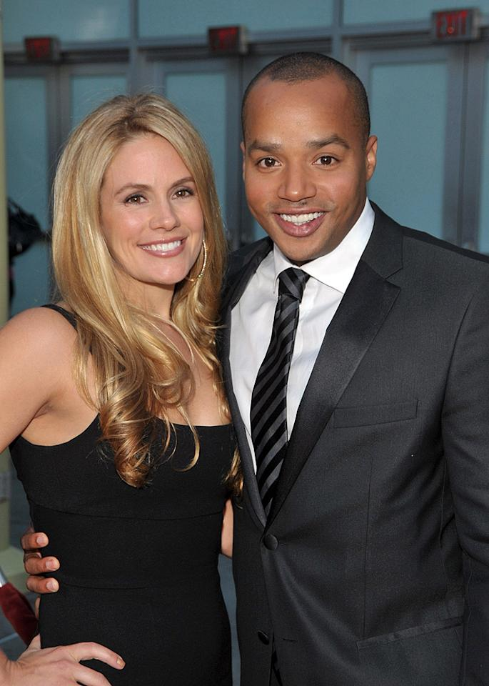 """<a href=""""http://movies.yahoo.com/movie/contributor/1809679113"""">Cacee Cobb</a> and <a href=""""http://movies.yahoo.com/movie/contributor/1800026496"""">Donald Faison</a> at the Los Angeles premiere of <a href=""""http://movies.yahoo.com/movie/1809928850/info"""">Next Day Air</a> - 04/29/2009"""