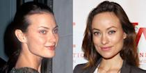 <p>Shalom Harlow and Olivia Wilde share the same square-shaped face and almond eyes. And lucky for both of them, this combo seems to be the key to being photogenic.</p>