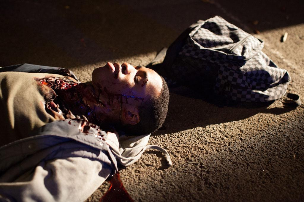 """Titus Makin, Jr. in the """"Grimm"""" episode, """"The Other Side."""""""