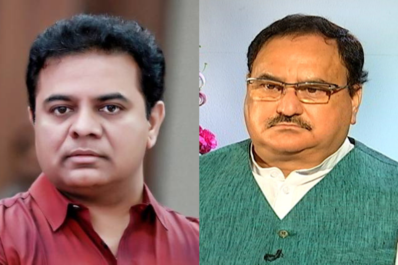 'BJP Can't Play out its Karnataka Drama in Telangana, People are Intelligent': KT Rama Rao Warns Nadda