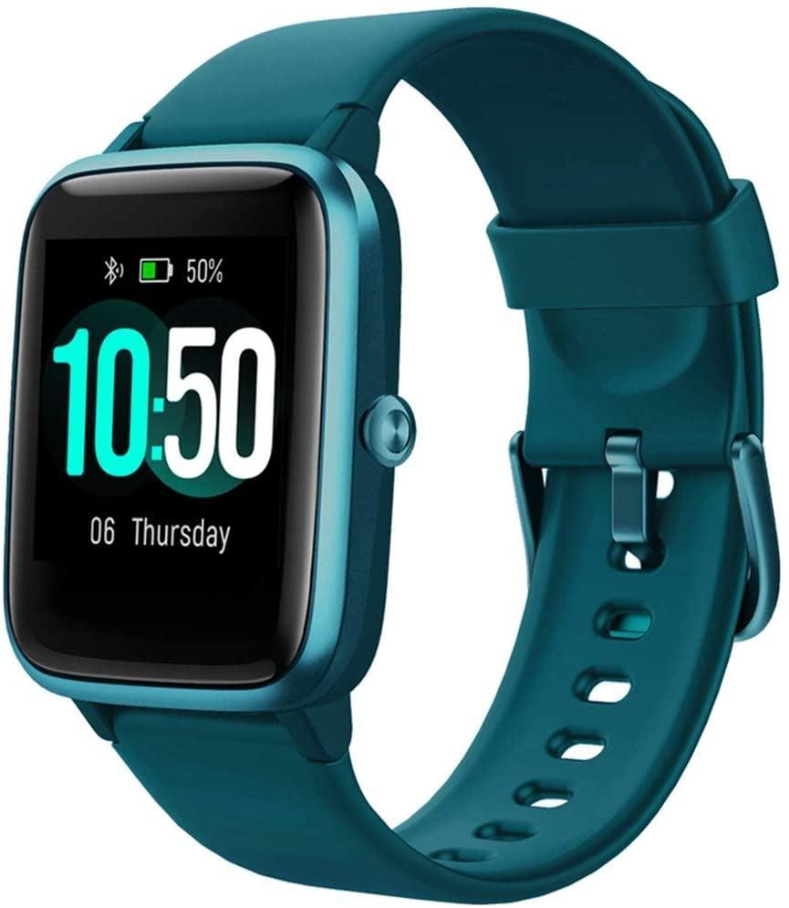 """<p><strong> The Tracker: </strong> <span>Yamay Smart Watch Fitness Tracker</span> ($30, originally $50)</p> <p><strong> The Rating: </strong> 4.3 stars </p> <p><strong> Why People Love It: </strong> If you're looking for an affordable, easy to use watch, this a good option. We like the clean interface and the fact that you can connect it to a bunch of different fitness apps. One reviewer raved that """"it looks almost like one of the expensive competitors watches. It does everything it claims to and gives me notifications of my messages and incoming calls. It was super easy to set up and the battery is barely low since charging it 2 days ago.""""</p>"""