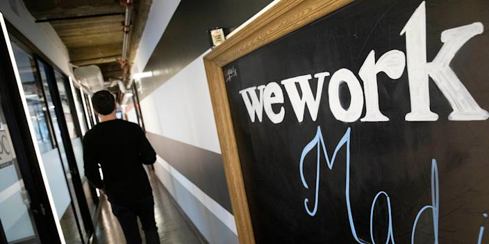 WeWork's availability amounts to over 20% of its portfolio, a figure that far exceeds the overall availability of space in Manhattan.
