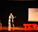 """As a philanthropist and a motivational speaker, she is one of the most favored guests at the Ted Talks where she inspires large audience bodies with the stupendous account of her bravery in the face of some of the rudest challenges thrown her way by life. Anu believes that the near-death experience has made her stronger than ever before. <em>""""To feel strong, to walk amongst humans with a tremendous feeling of confidence and superiority is not at all wrong. The sense of superiority in bodily strength is borne out by the long history of mankind paying homage in folklore, song and poetry to strong women,"""" </em>she says in one of her interviews."""