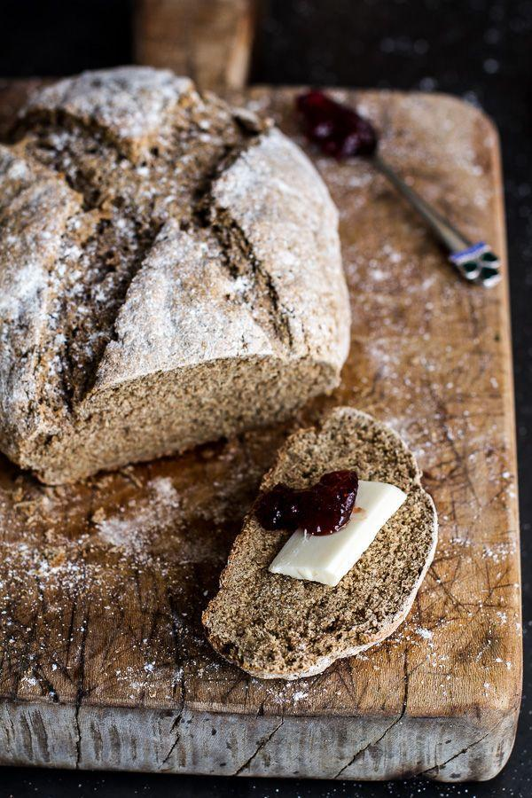 """<p>When you add whole grains, it means you can eat the whole loaf right? </p><p><a href=""""http://www.halfbakedharvest.com/beer-rye-irish-soda-bread/"""" rel=""""nofollow noopener"""" target=""""_blank"""" data-ylk=""""slk:Get the recipe from Half Baked Harvest »"""" class=""""link rapid-noclick-resp""""><em>Get the recipe from Half Baked Harvest »</em></a><br></p>"""