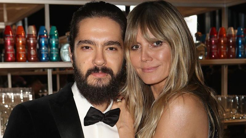 Heidi Klum Goes Topless While in Hong Kong With Fiance Tom Kaulitz