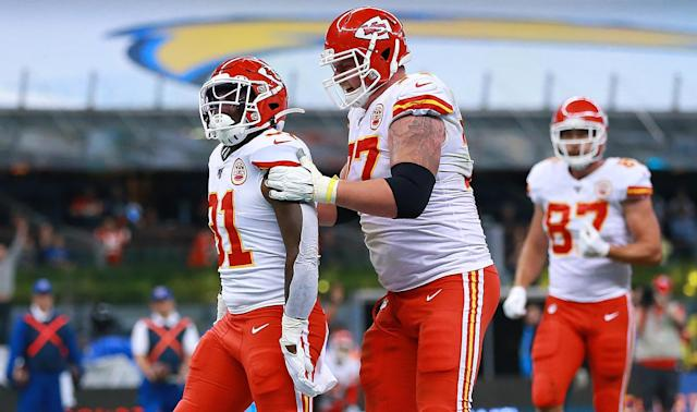 The Kansas City Chiefs improved to 7-4 after overcoming the Los Angeles Chargers in Mexico.