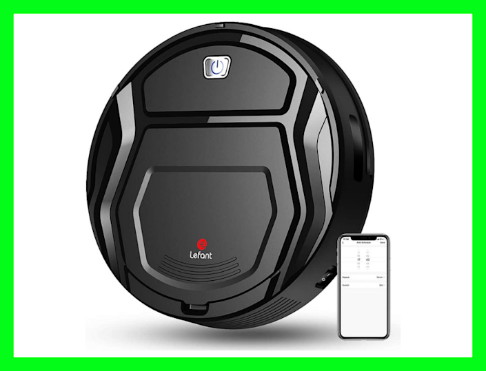 Impressive: This robot vacuum has earned a flawless five-star rating from more than 1,200 reviewers. (Photo: Amazon)