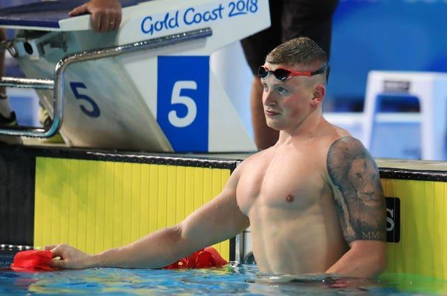 Peaty finished with a silver 50m medal for a second successive Commonwealth Games in 2018 (Mike Egerton/PA).