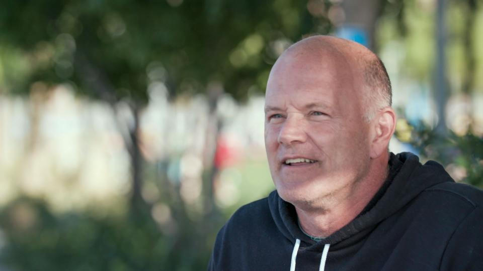 UNSPECIFIED - OCTOBER 21: In this screengrab, Mike Novogratz speaks during the Hudson River Park Ungala on October 21, 2020. (Photo by Getty Images/Getty Images for Friends of Hudson River Park)