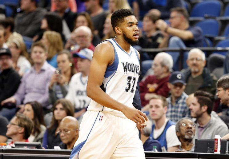 Karl-Anthony Towns' bonus business is already done. (AP)