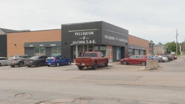 A P.E.I. liquor store is shown in this undated photo. The Ukrainian Canadian Congress has been asking for the removal of the Romanian vodka brand from P.E.I. liquor stores. (Tony Davis/CBC - image credit)