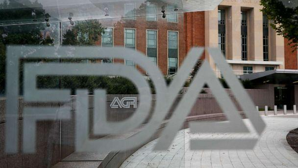 PHOTO: In this Aug. 2, 2018, file photo, the U.S. Food and Drug Administration building is seen behind FDA logos at a bus stop on the agency's campus in Silver Spring, Md. (Jacquelyn Martin/AP, File)