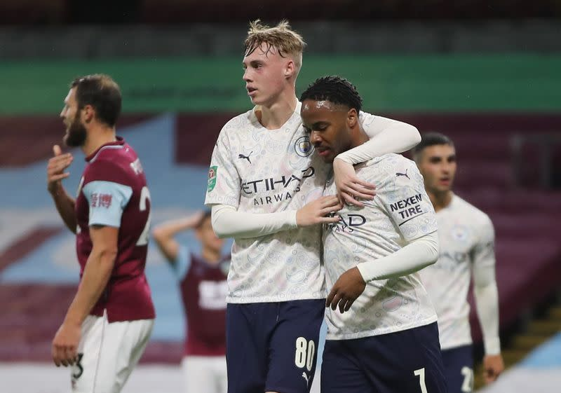 Carabao Cup Fourth Round - Burnley v Manchester City