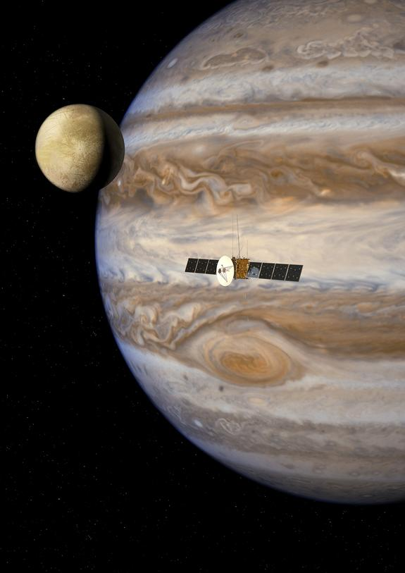 Ambitious Mission to Jupiter's Icy Moons Gets Science Instruments