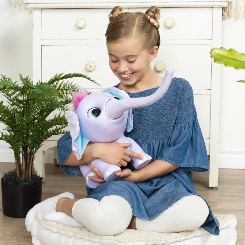 Juno My Baby Elephant with Interactive Moving Trunk. (Photo: Walmart)