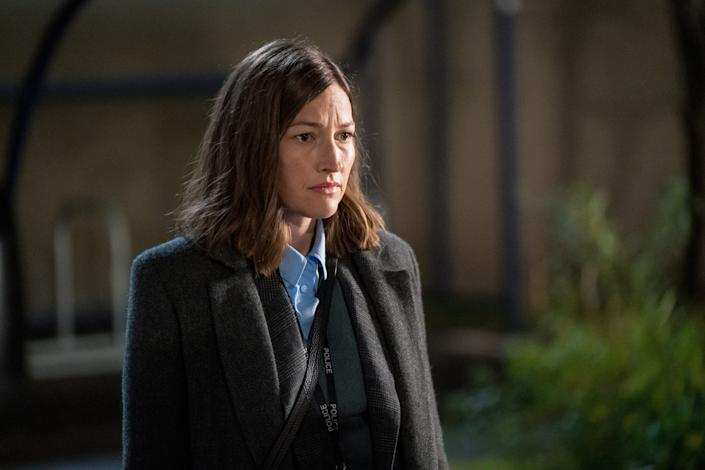 WARNING: Embargoed for publication until 00:00:01 on 13/04/2021 - Programme Name: Line of Duty S6 - TX: n/a - Episode: Line Of Duty - Ep 5 (No. n/a) - Picture Shows: *NOT FOR PUBLICATION UNTIL 00:01HRS, TUESDAY 13TH APRIL, 2021*  DCI Joanne Davidson (KELLY MACDONALD) - (C) World Productions - Photographer: Steffan Hill