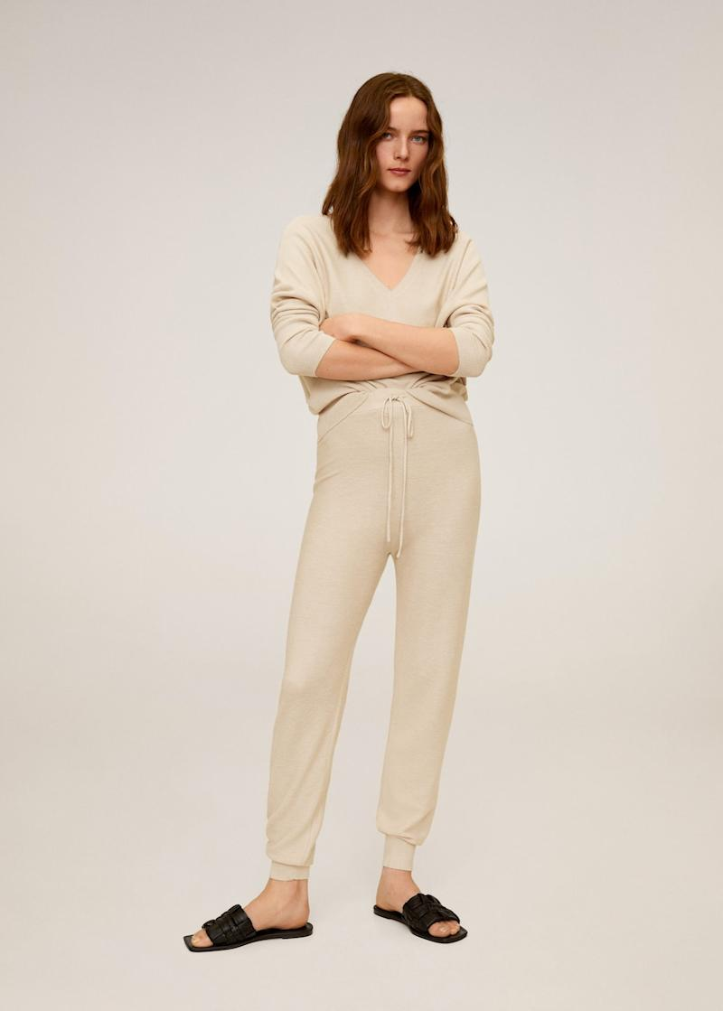 Knit Jogger-style Jogger and Modal Cotton-blend Sweater