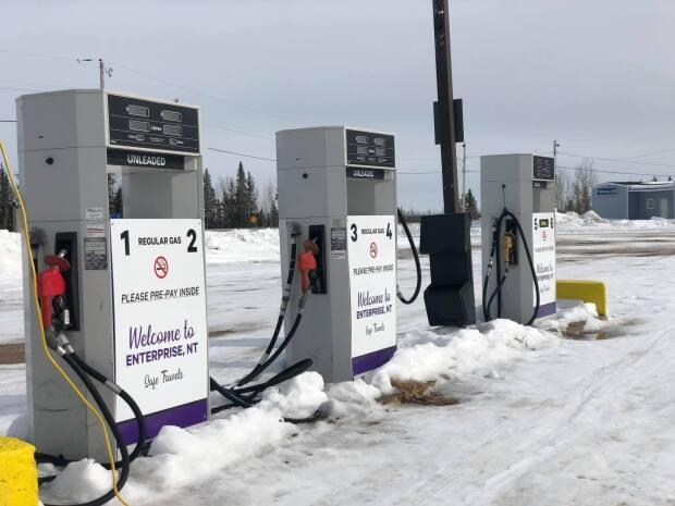 The gas station should be ready to go this weekend. It will be the first time the community has had one in over a year.